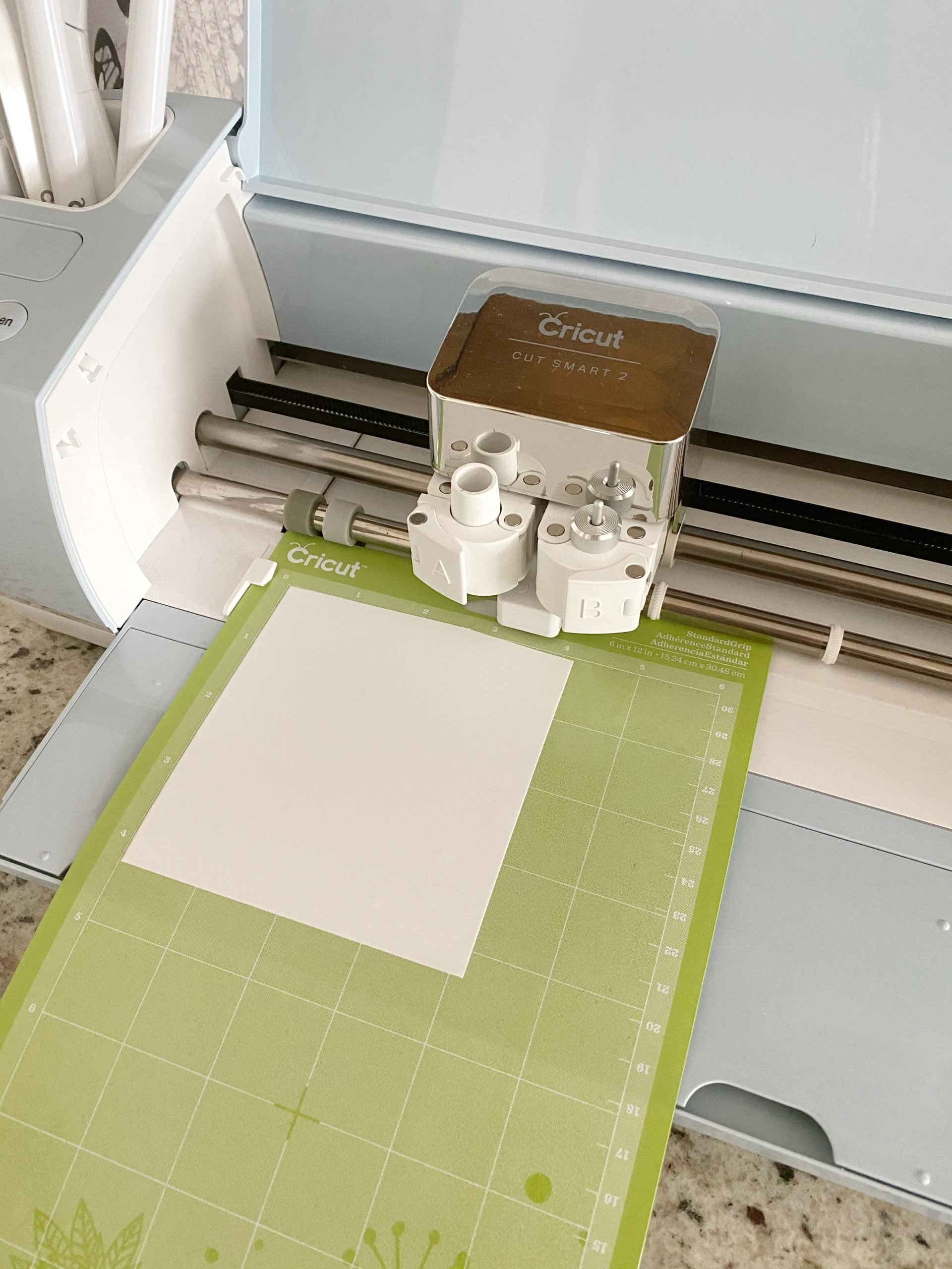 Cricut machine cutting stencil