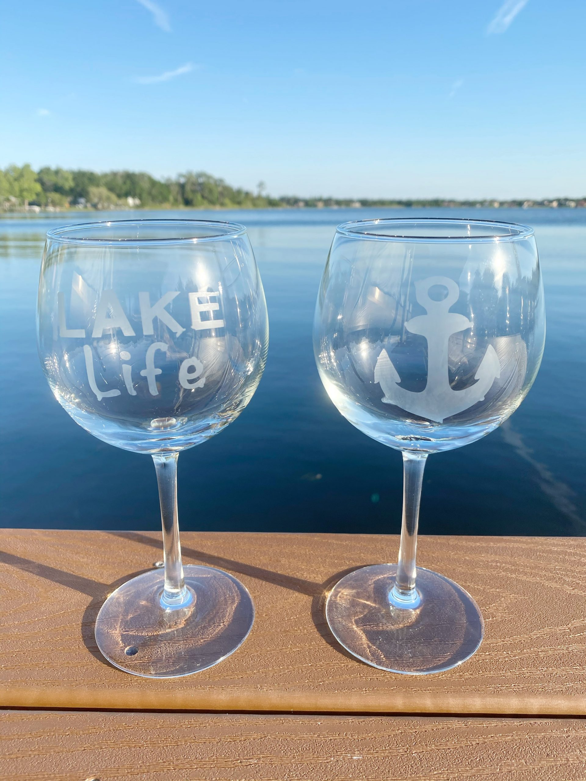 Easy Diy Etched Glass Gift Ideas Lake Life State Of Mind