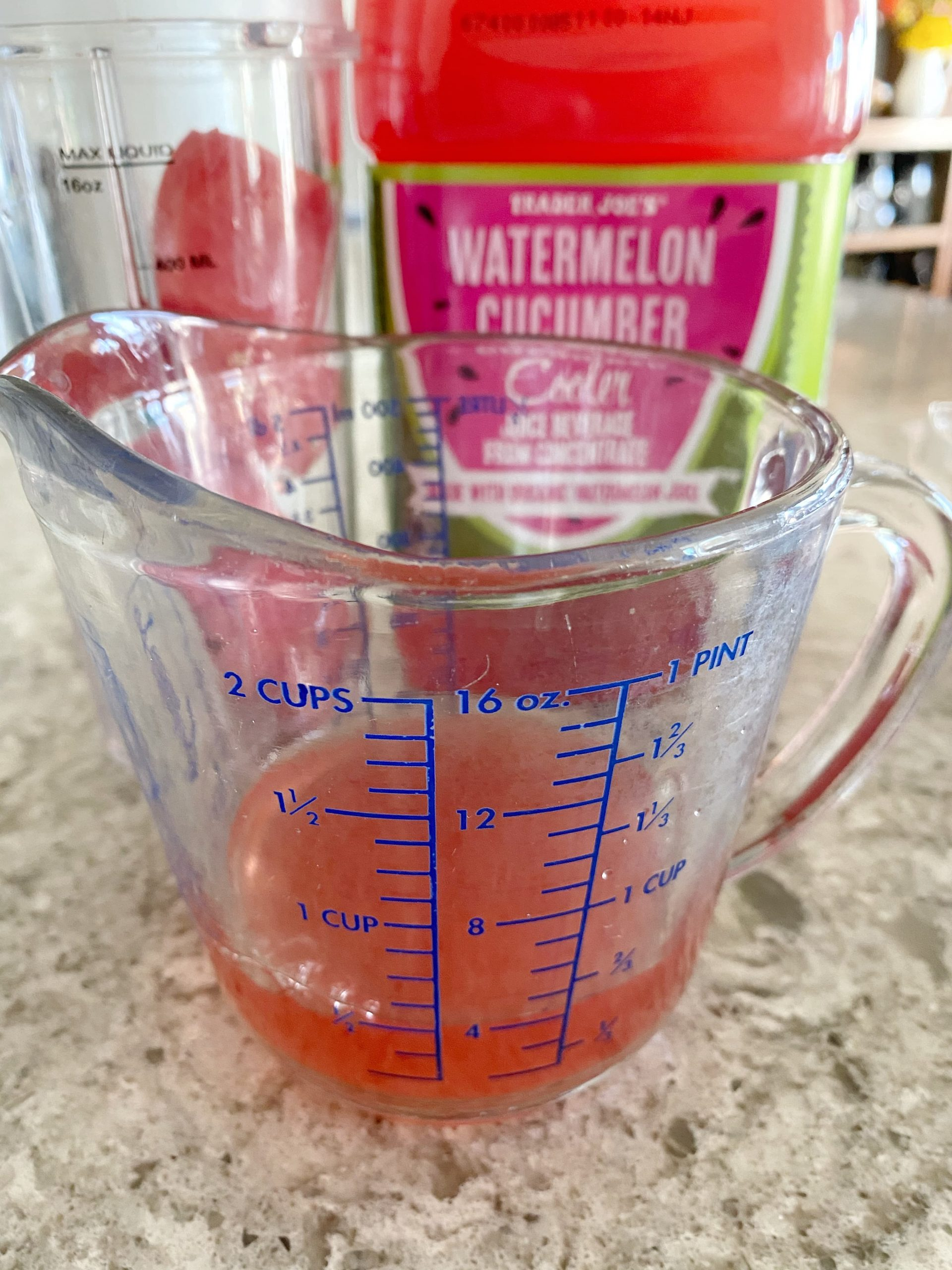 Trader Joe's watermelon cucumber juice
