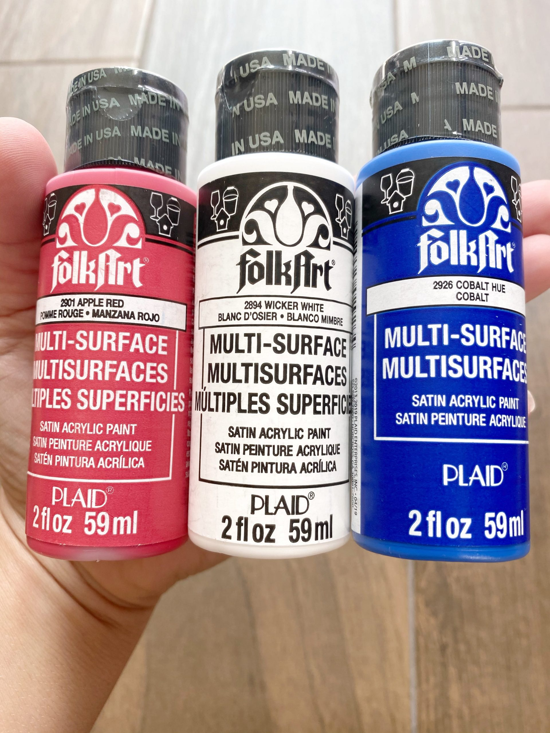 FolkArt Multi-Surface paint