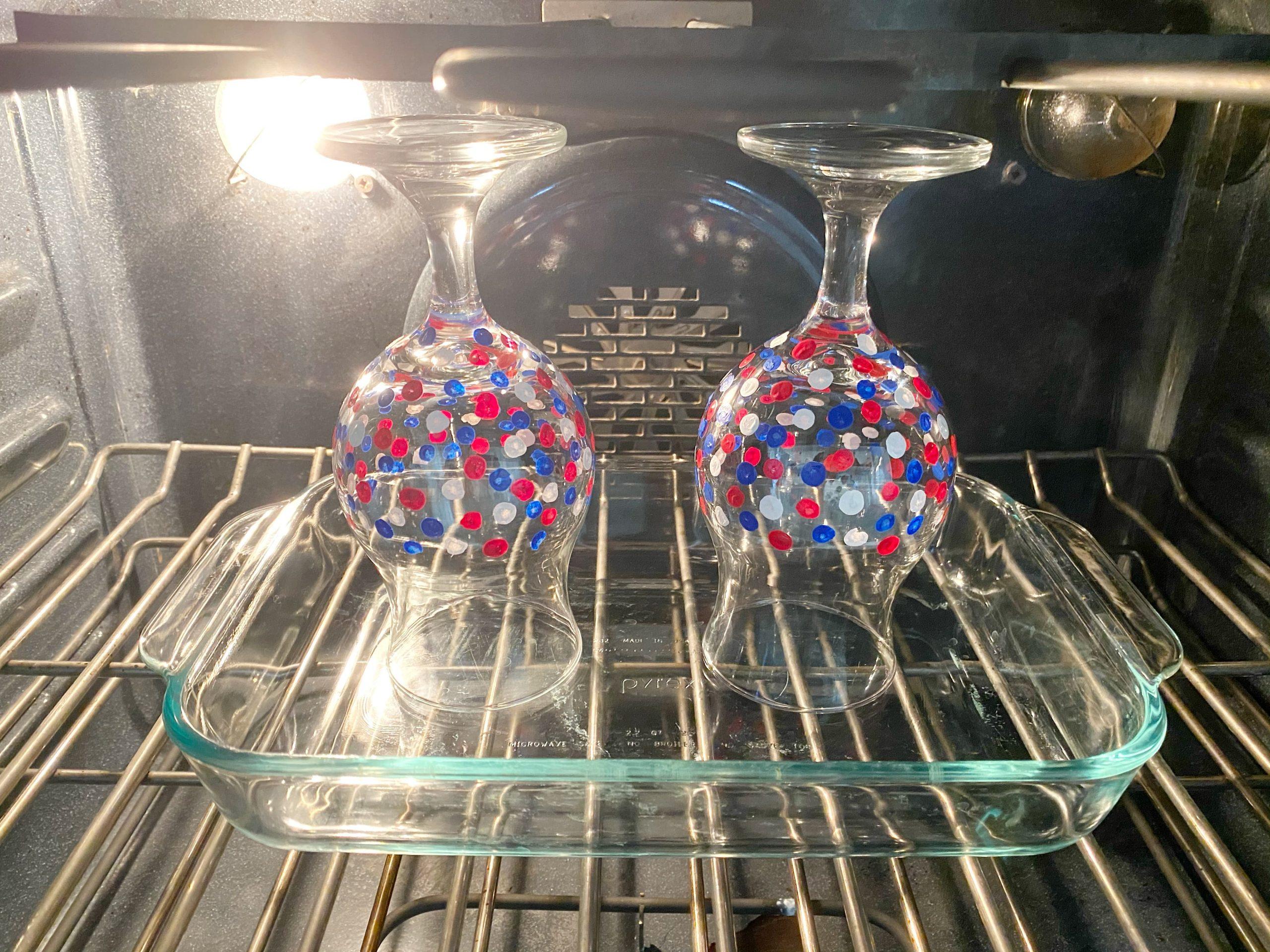 Cute DIY Patriotic Glasses