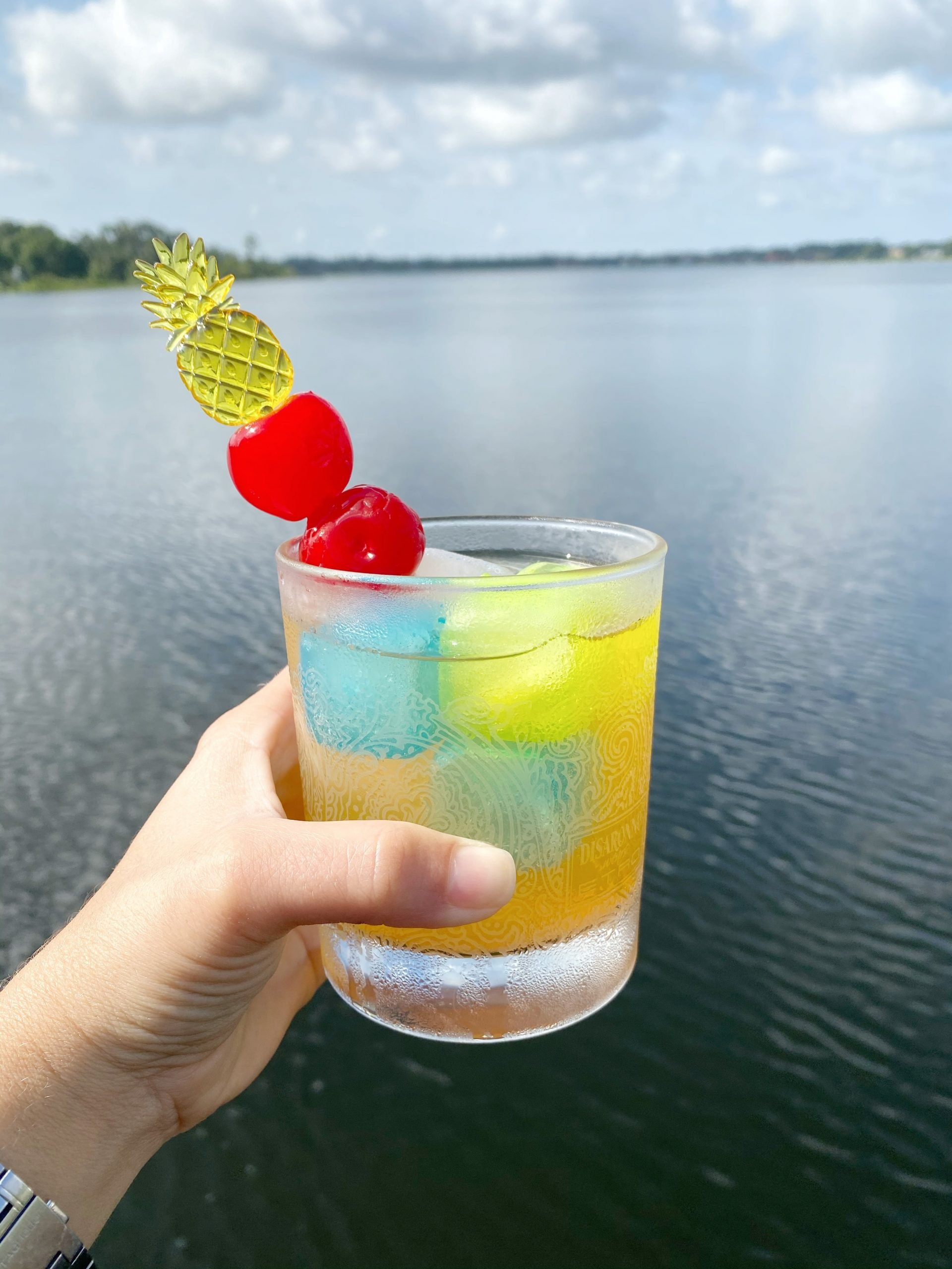 Cruzan Tropical Fruit Rum Cocktail