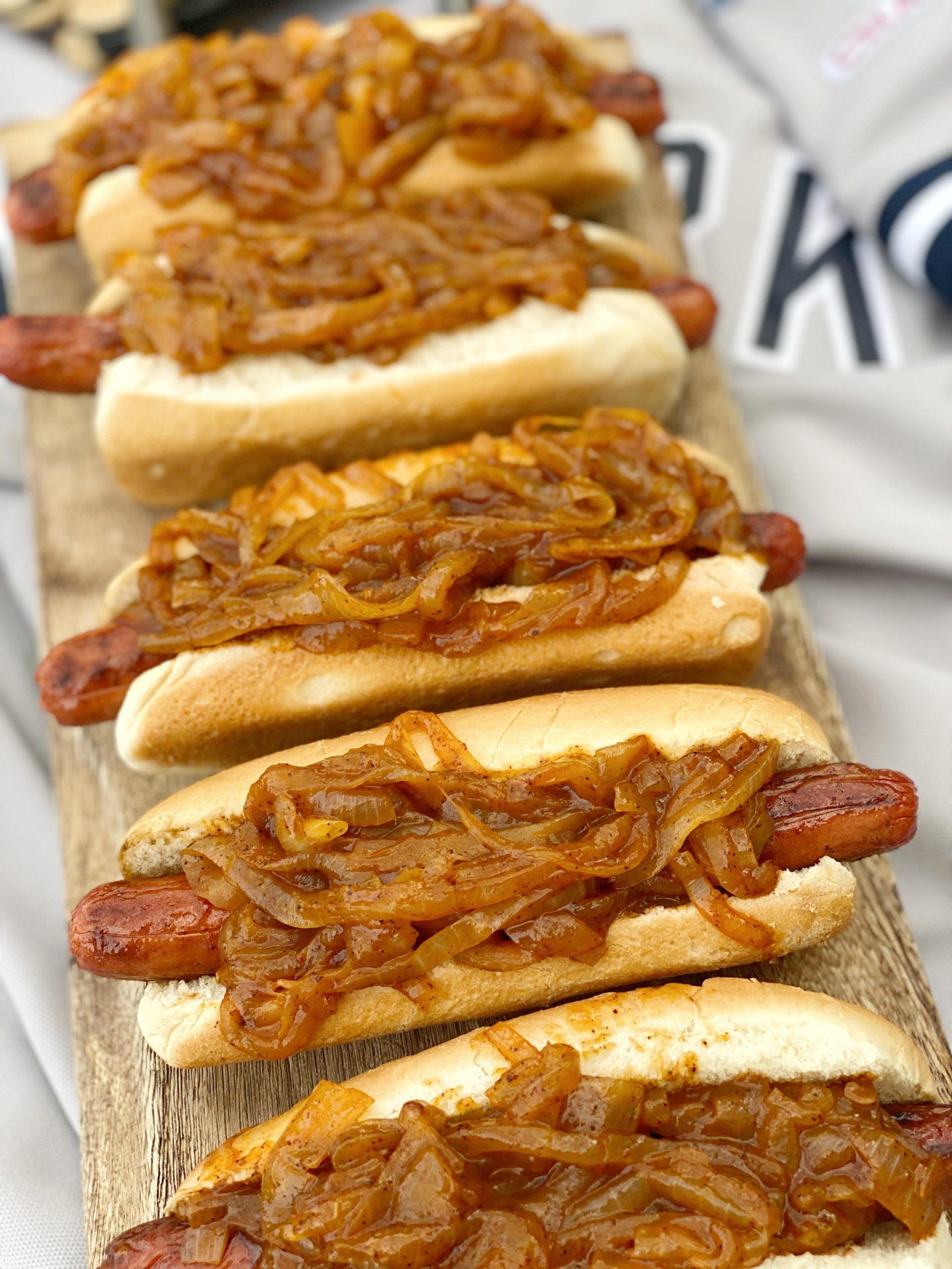 Hot Dog Onion Sauce Recipe