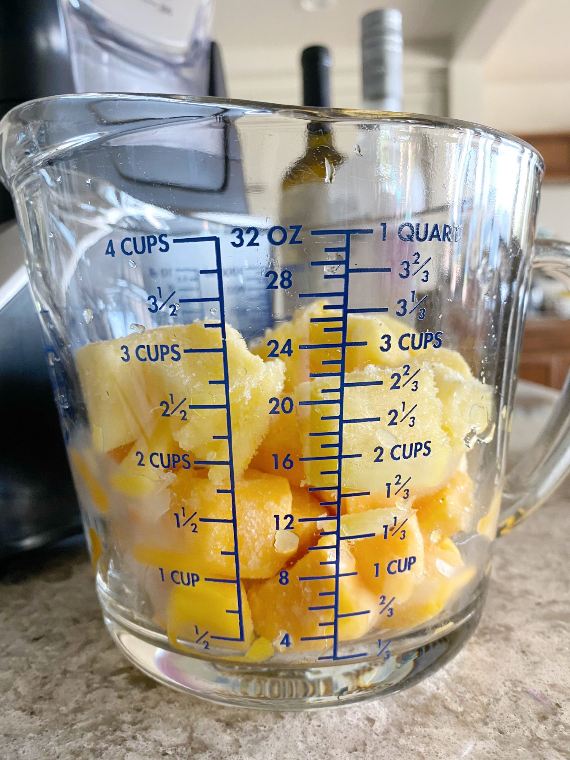 frozen mango and pineapple