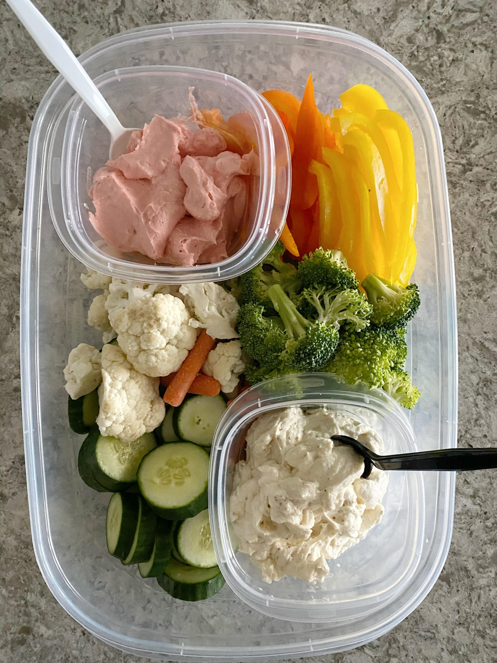 2 Easy Veggie Dip Recipes with Cream Cheese