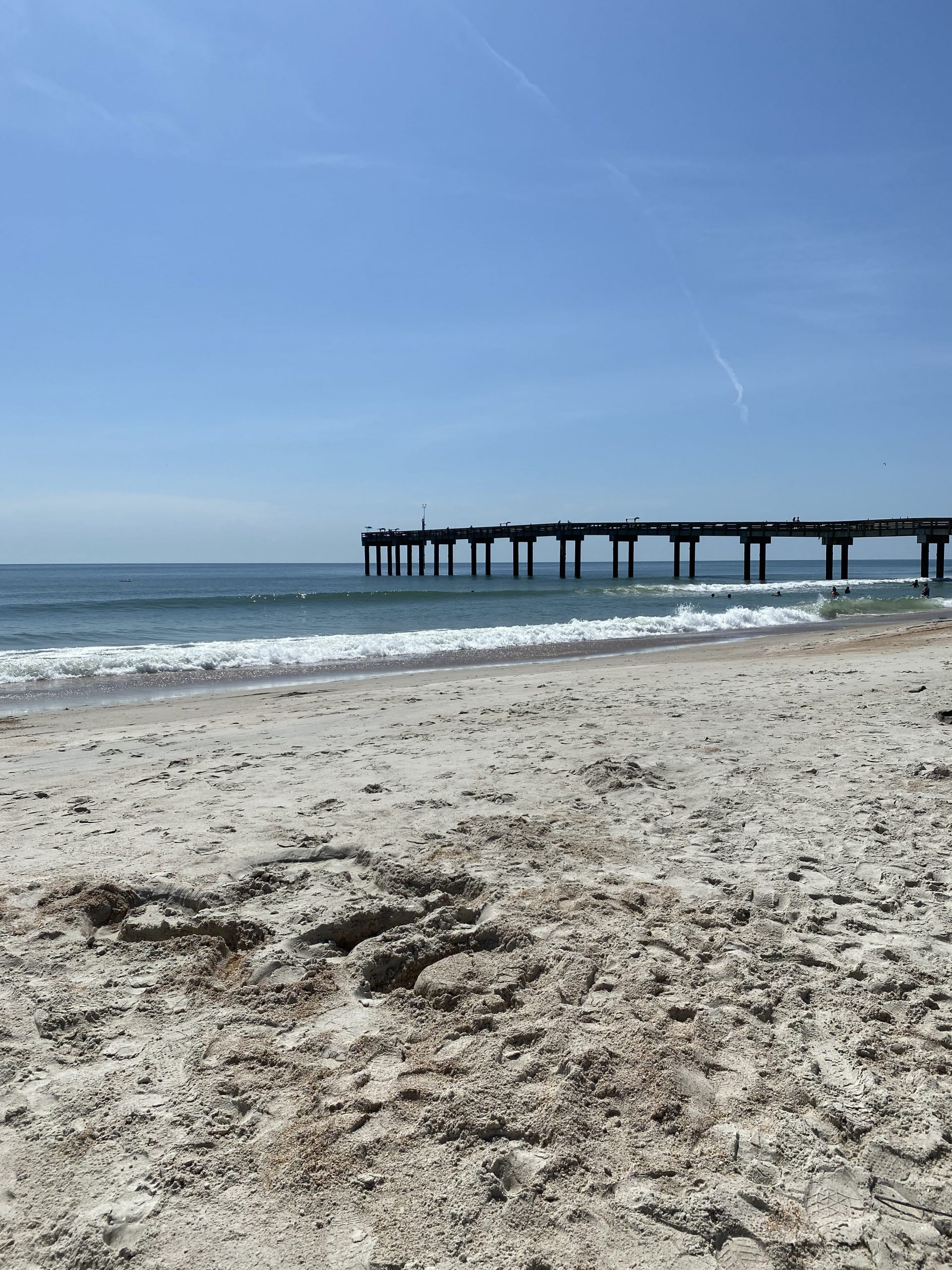 pier on St Augustine beach