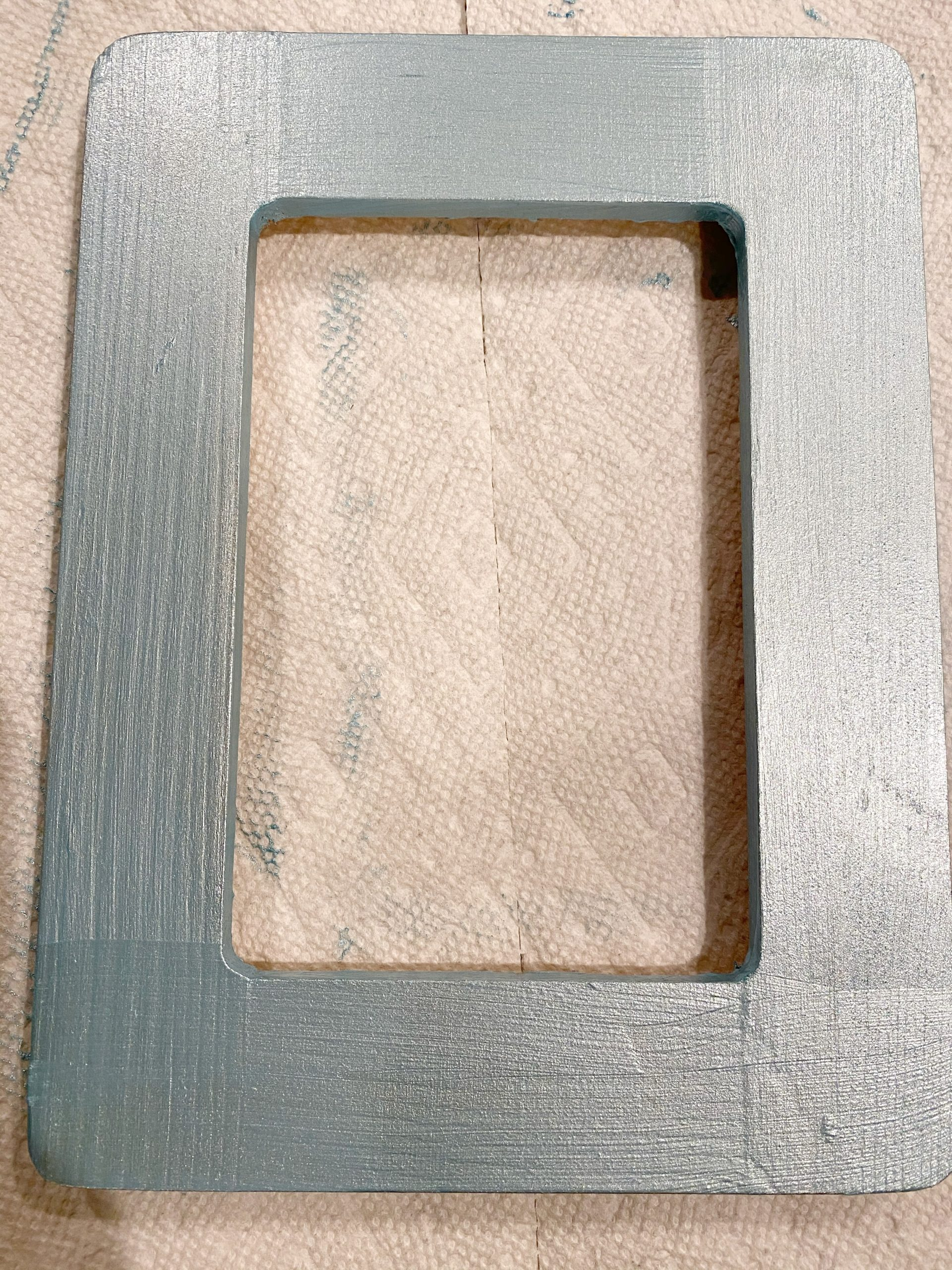 painted wood frame