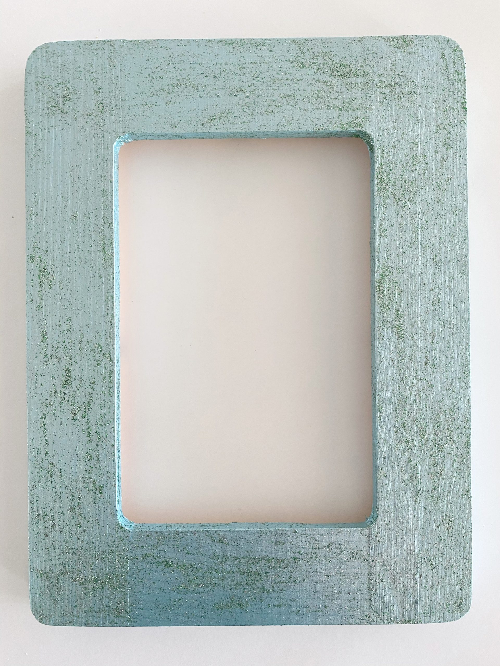 painted wooden frame