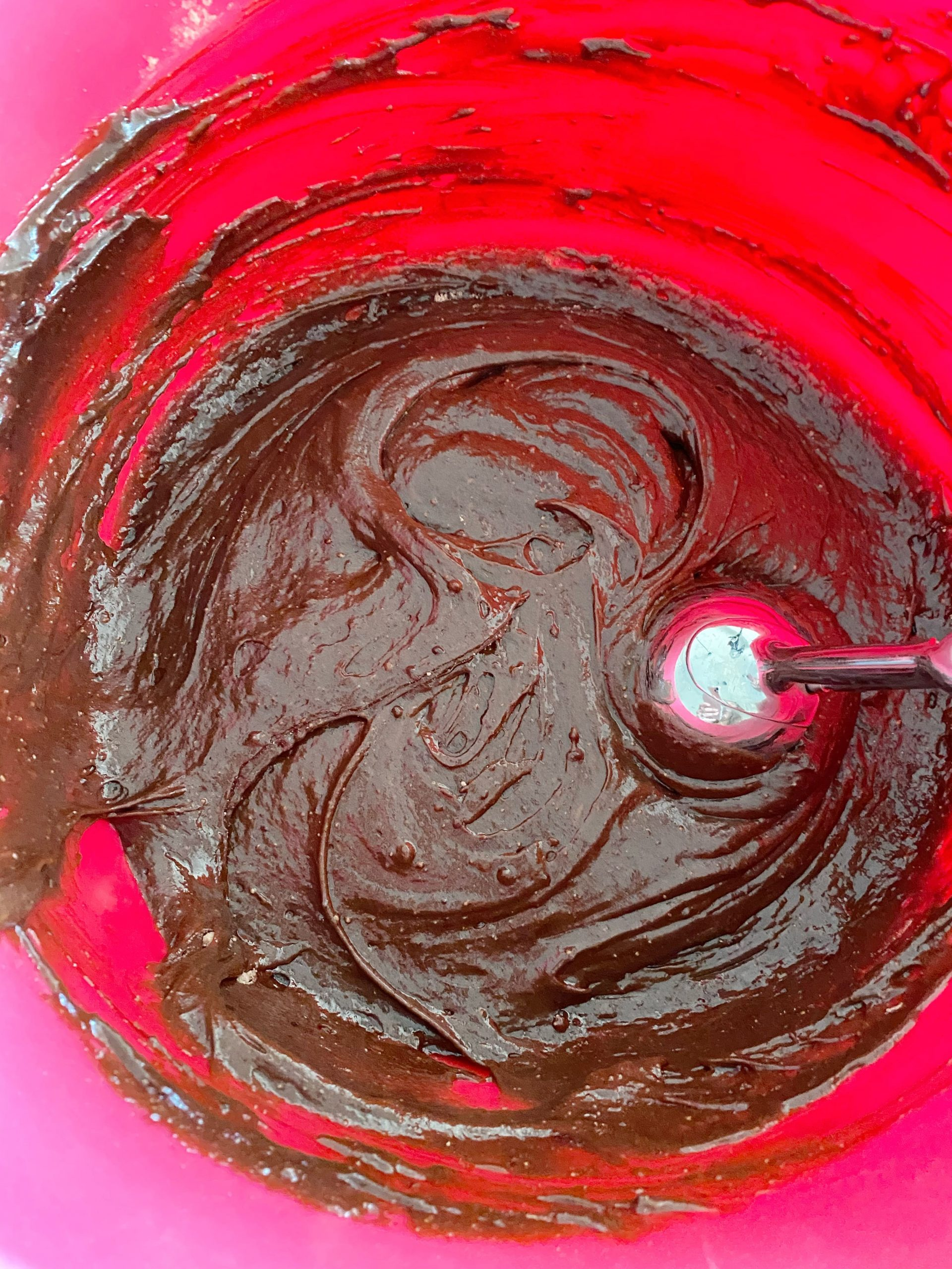 chocolate and kahlua cupcake batter