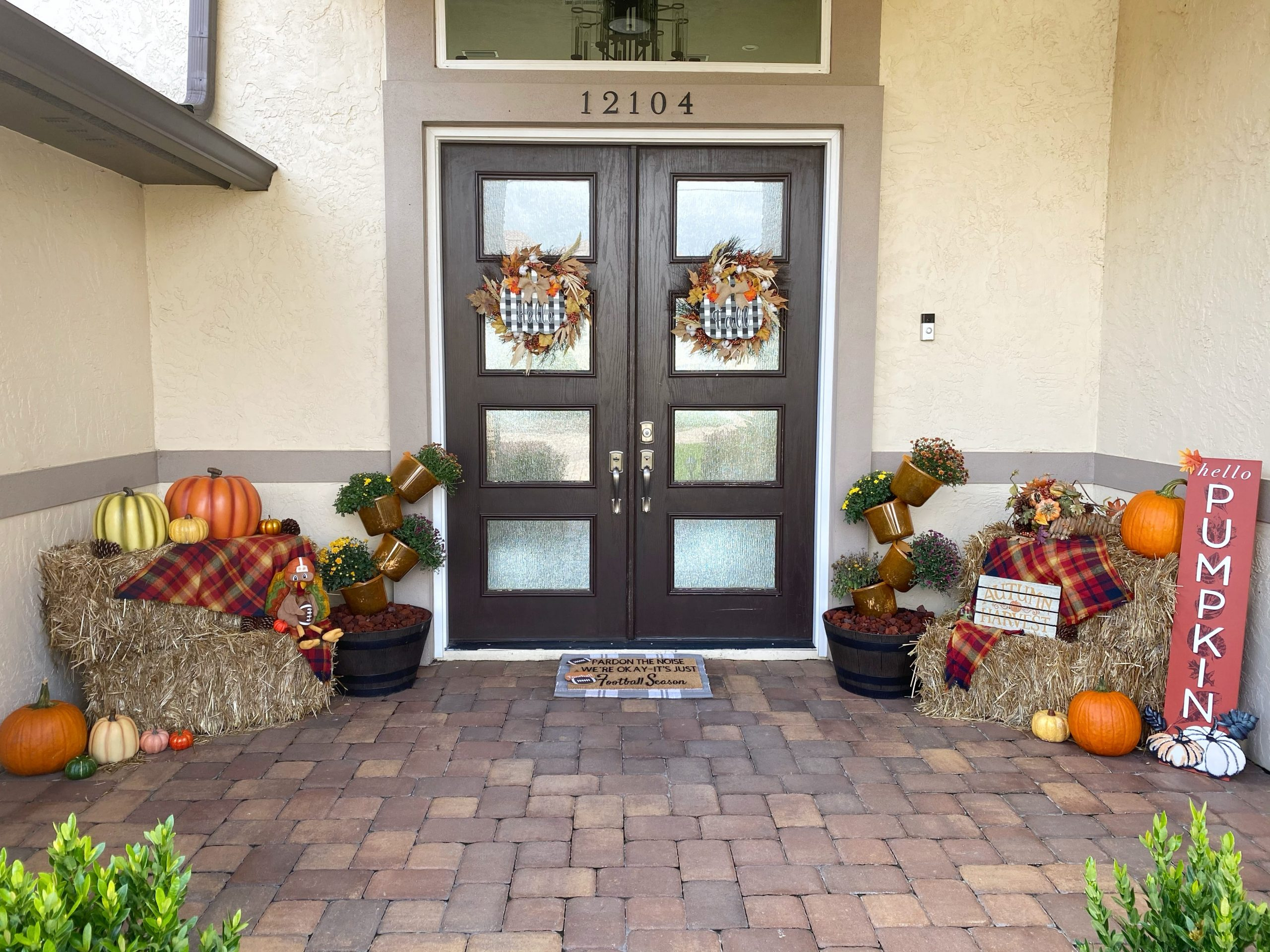 Fall Front Door Decor Inspiration