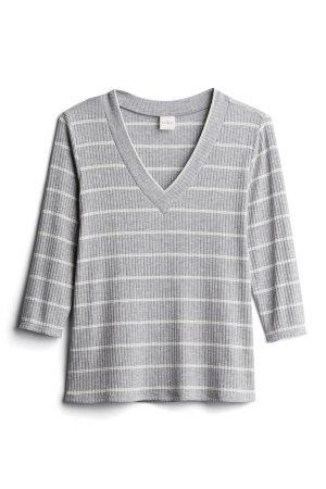 KAILEIGH Julieta V Neck Knit Top Size- XSP $40.00