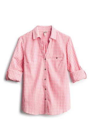 KUT FROM THE KLOTH Feena Button Down Textured Top SIZE- XSP $68.00