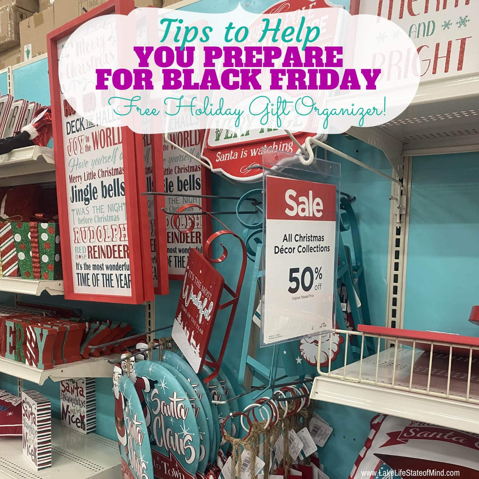 Tips to Help You Prepare for Black Friday