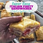 Italian Party Sandwiches