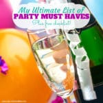 5 Things You Must Have at Every Party