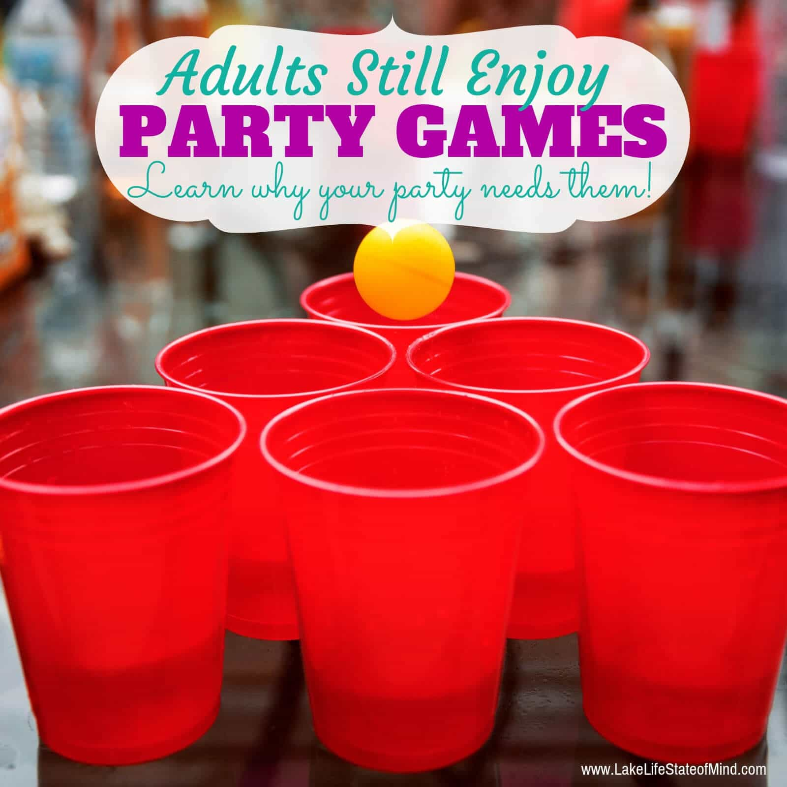 Party Games Aren't Just For Kids
