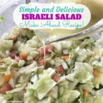 Simple and Delicious Israeli Salad
