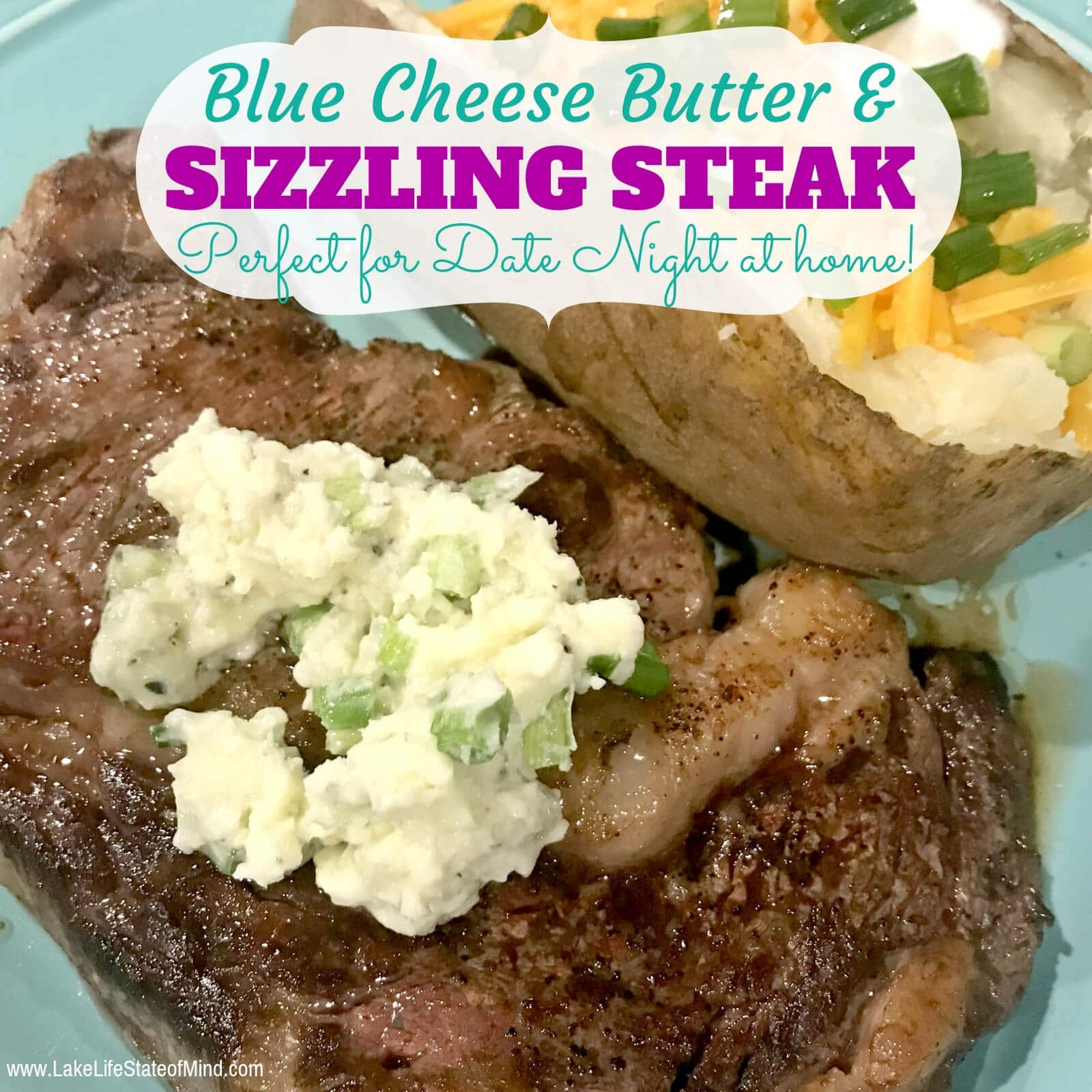 Mouthwatering Steak and Blue Cheese Butter