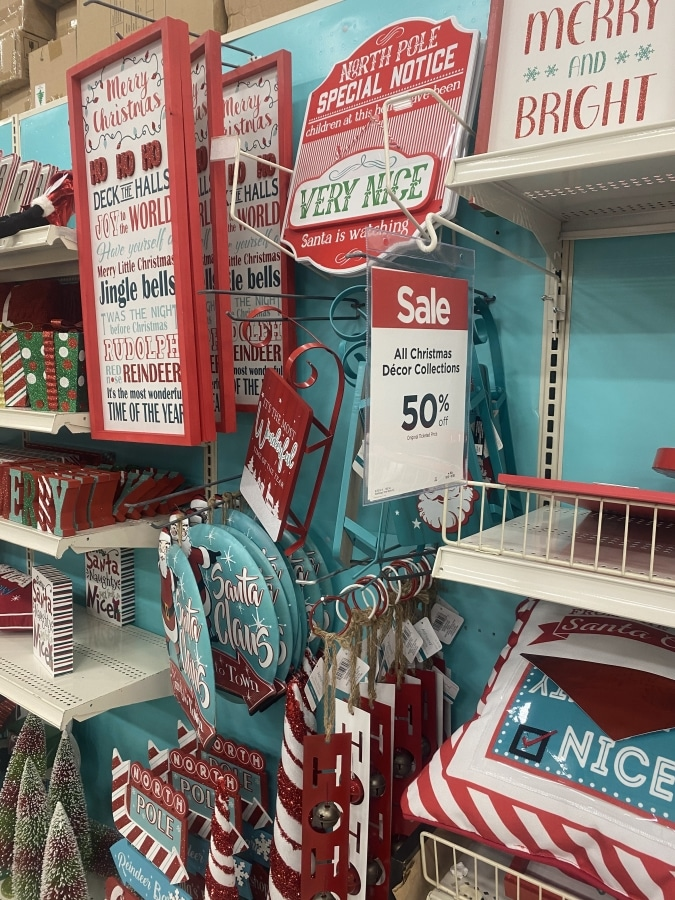Holiday Decorations on Sale