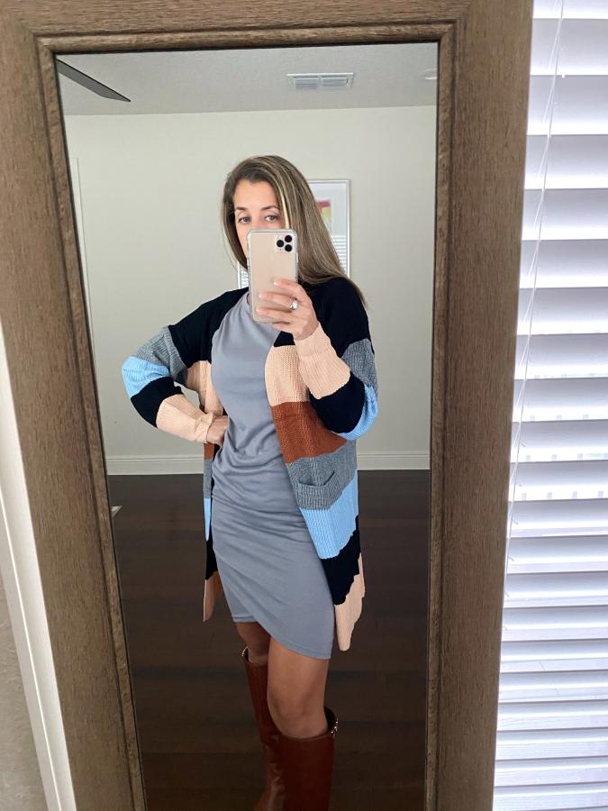 Amazon gray dress