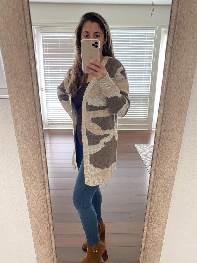 RD Style – Ditza Open Cardigan Top $78