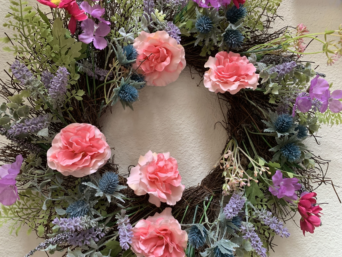 Floral Wreath from Joann Fabrics
