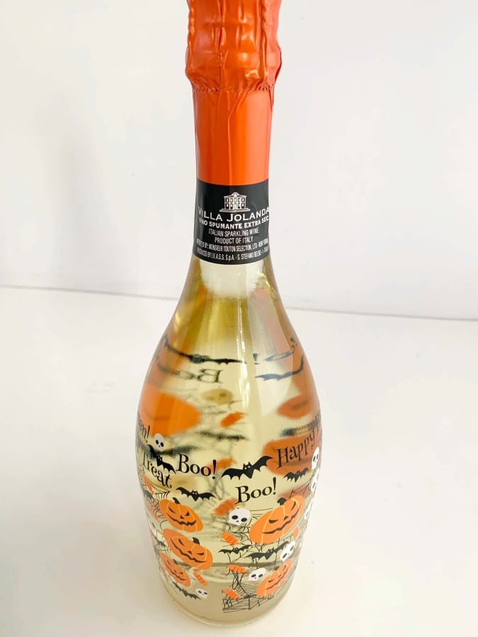 Halloween Champagne Bottle from World Market