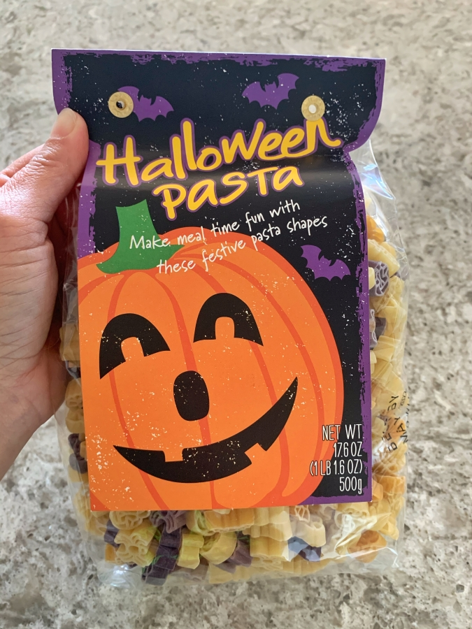 Halloween pasta World Market