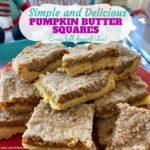 Pumpkin Butter Squares