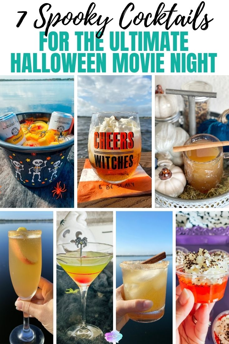 7 Halloween Cocktails for your Halloween Movie Night