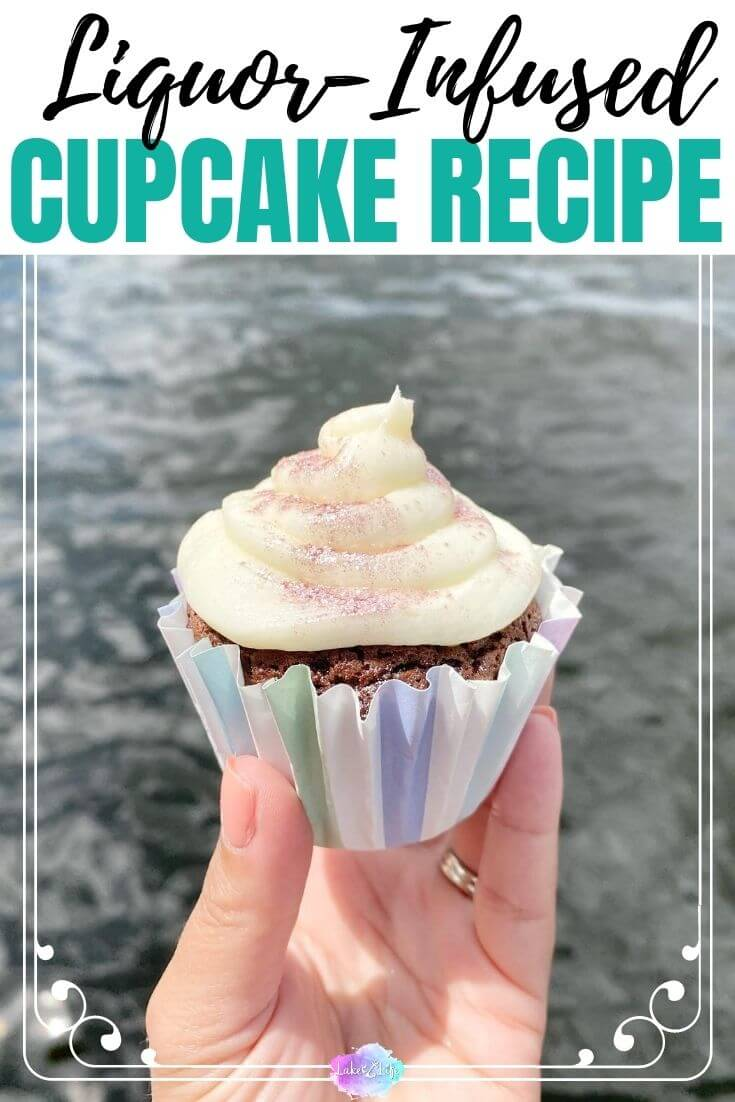 Cake Mix Kahlua and Amaretto Infused Cupcakes