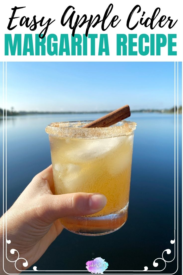 Easy Apple Cider Margarita