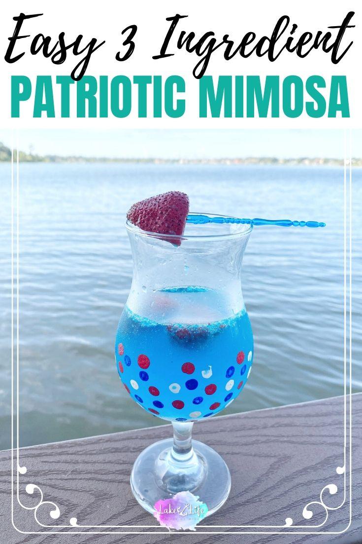 Easy Patriotic Mimosa