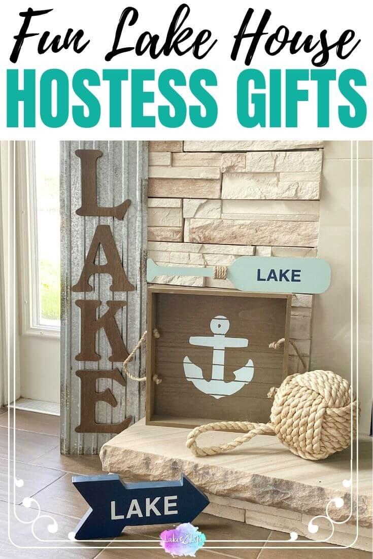 Fun Lake House Hostess Gift Ideas