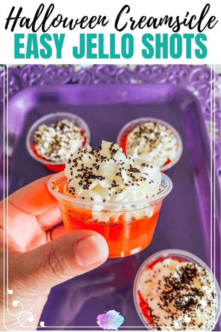 Halloween Creamsicle Jello Shots