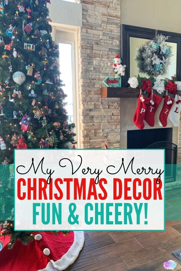 My Very Merry Christmas Decor is the perfect combination of fun holiday decorating ideas mixed with