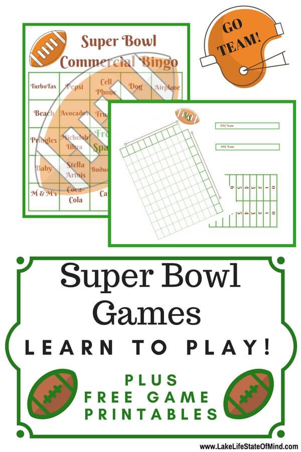 Fun Super Bowl Games