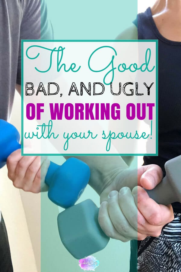 "Embarking on a fitness quest with your spouse is rewarding and insane all at once! Read, ""The Good, The Bad and The Ugly of Working Out With Your Spouse"". #workingout #workinghard #couplegoals"