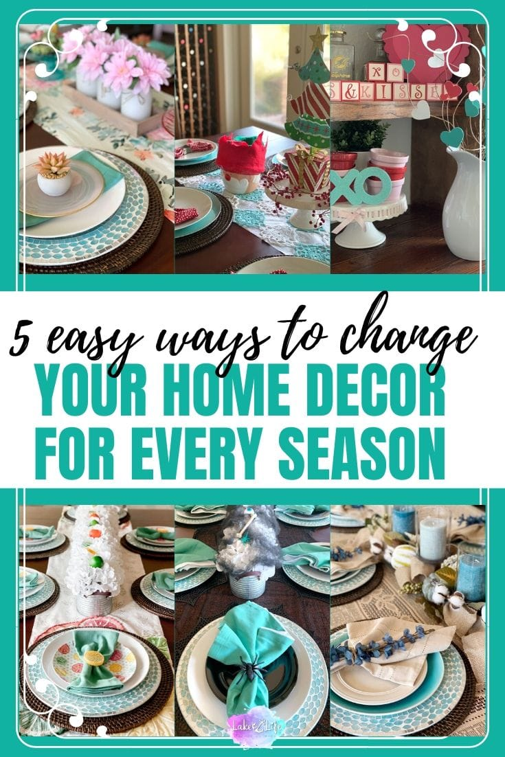 5 Ways to Easily Change Your Home Decor for Every Season