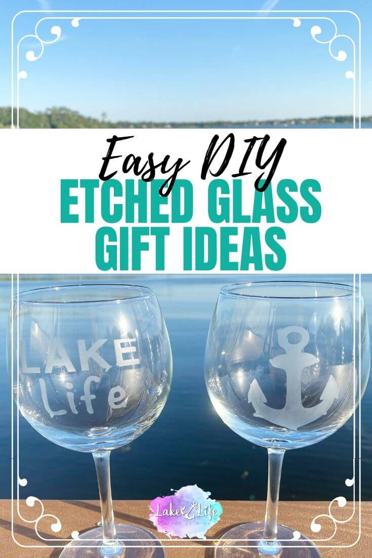 Easy DIY Etched Glass Gift Ideas
