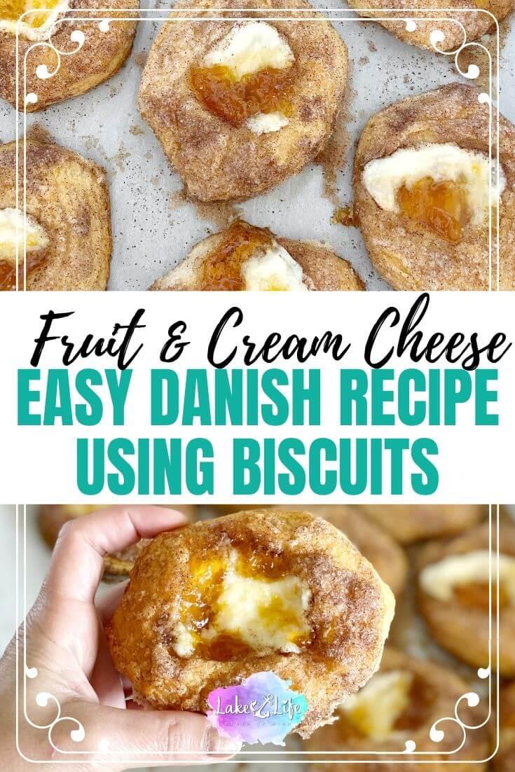 Easy Fruit and Cream Cheese Danish Recipe