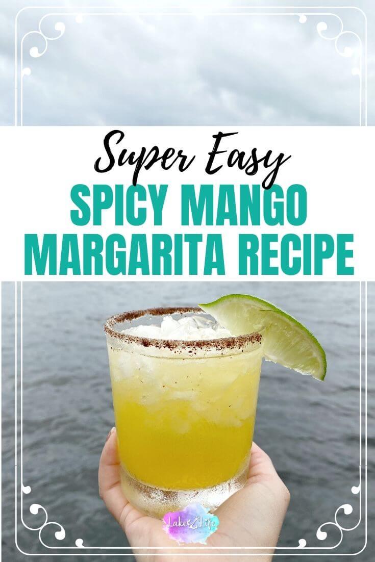 Easy Spicy Mango Margarita Recipe