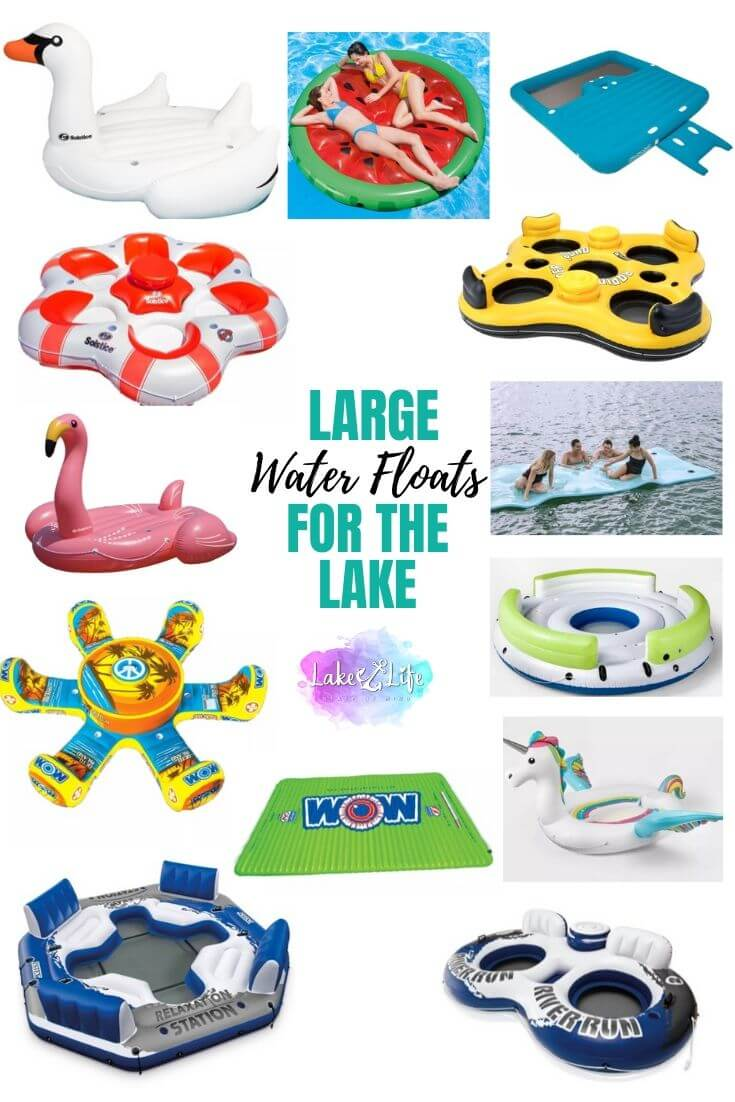 Large Water Floats for the Lake
