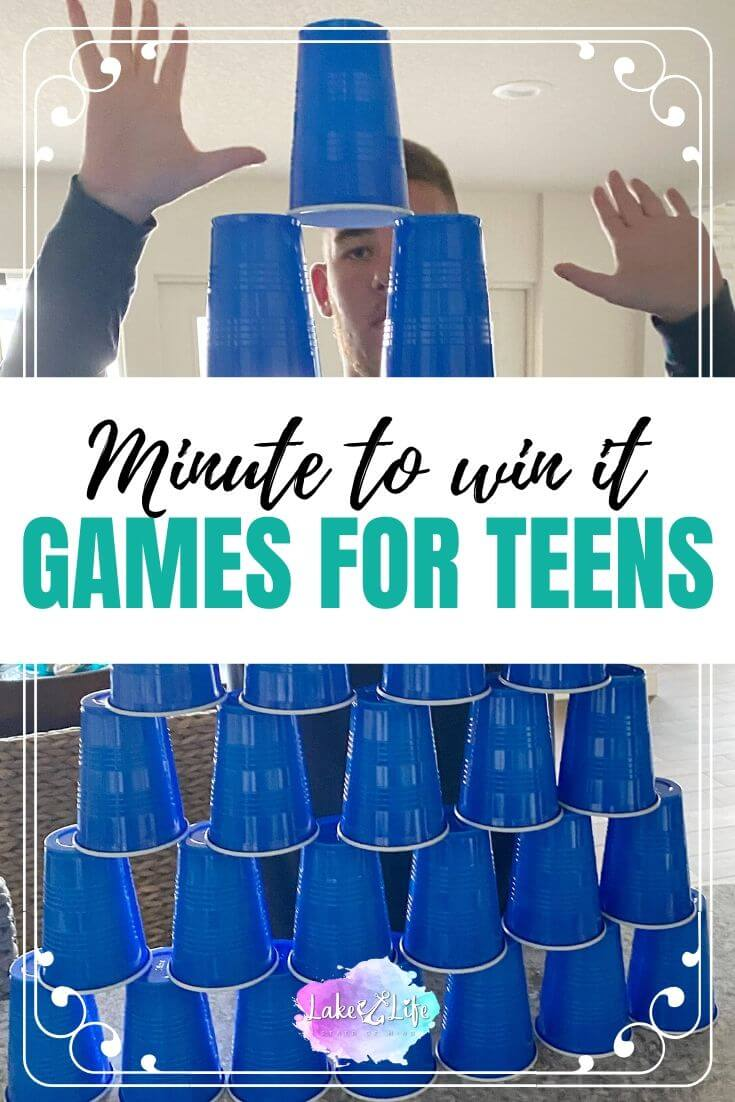 Minute To Win It Games for Teenagers