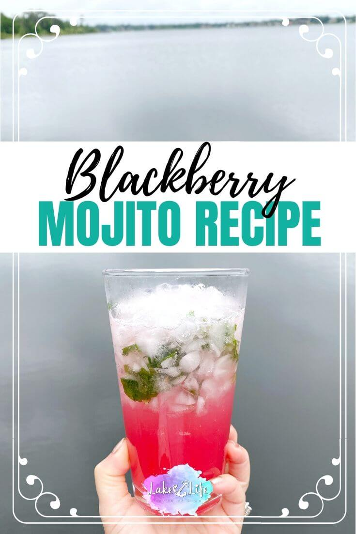 Refreshing Blackberry Mojito Recipe