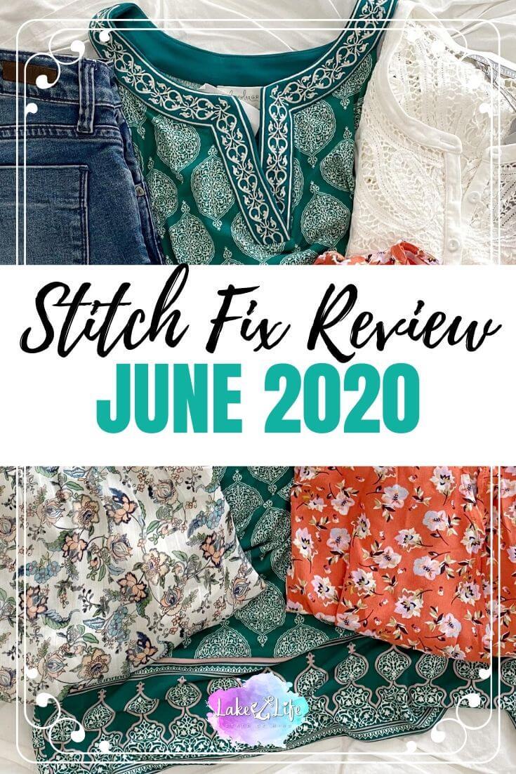 Stitch Fix Box Review June 2020 Fix #59