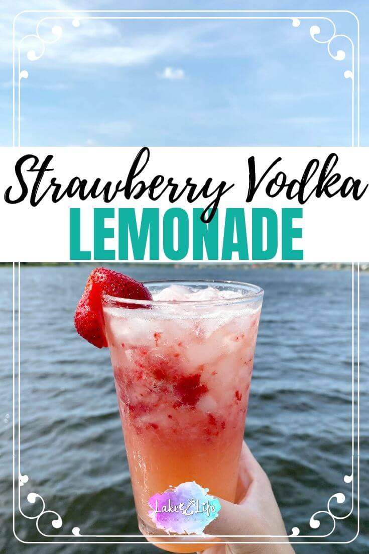 Strawberry Vodka Lemonade
