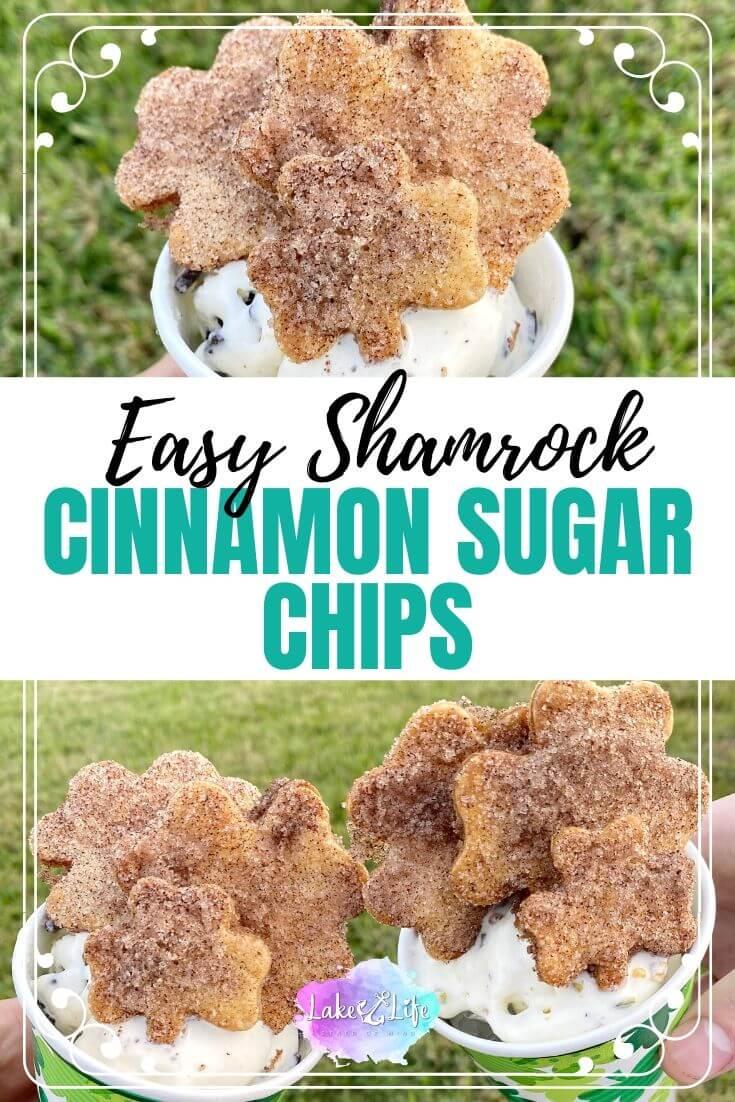 Shamrock Cinnamon Sugar Chips