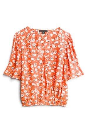 SANCTUARY Derona Surplice Top Size- XS $89.00