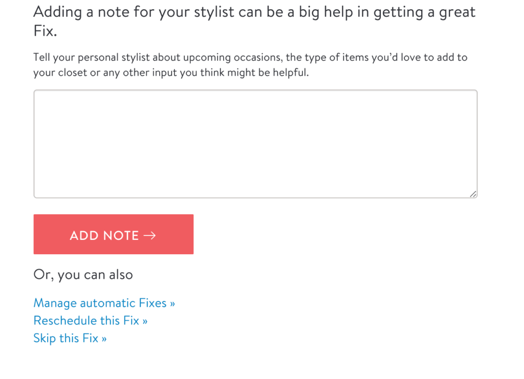 Tips for getting the most from your stitch fix subscription